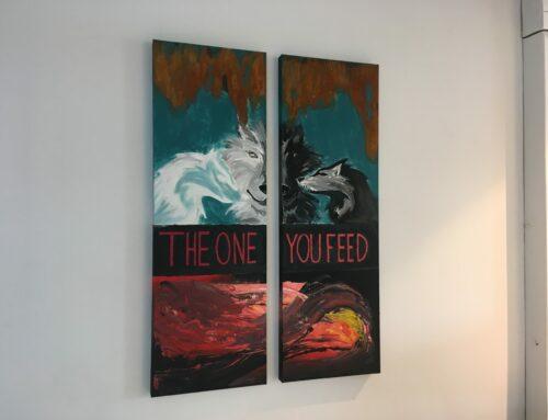 Die Geschichte der zwei Wölfe – The one you feed