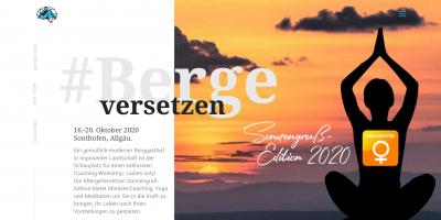 #BergeVersetzen - die Sonnengruß-Edition 2020
