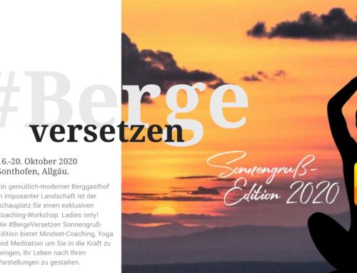 #BergeVersetzen: die Sonnengruß-Edition 2020 – exklusiv für Business Ladies
