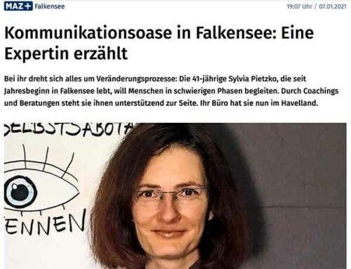 Bericht in der Märkischen Allgemeinen Online (€)